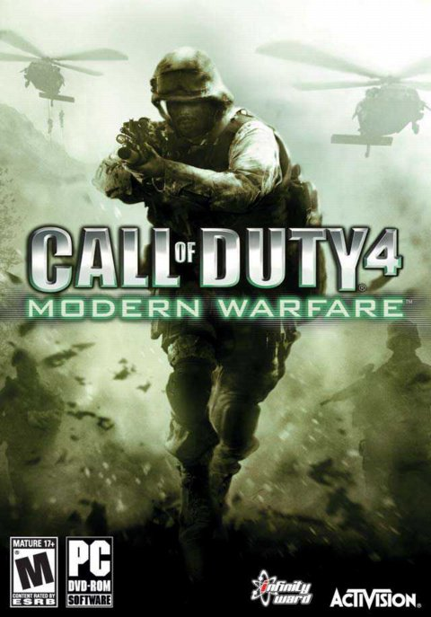 Игра Call of Duty 4: Modern Warfare [2007]