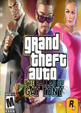 скачать Grand Theft Auto IV The Ballad of Gay Tony [2010]